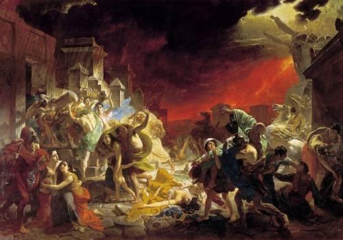 Последний день Помпеи миф и история ( фото + видео )