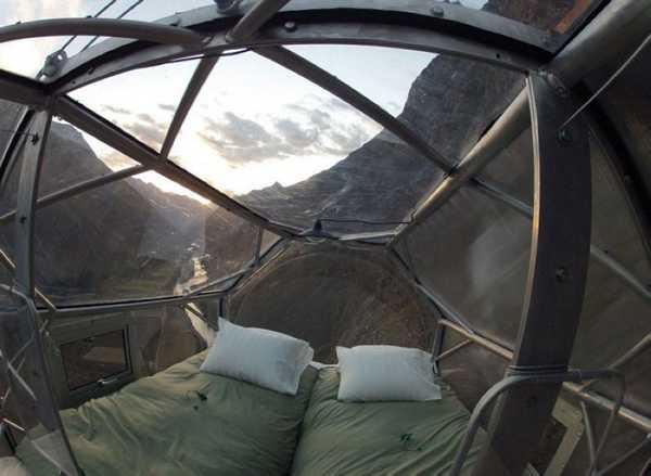 Уникальный отель в Перу