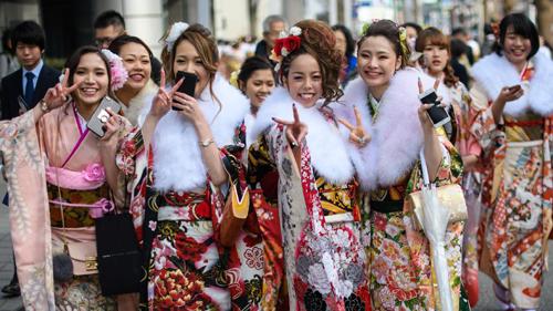 8 Марта в Японии